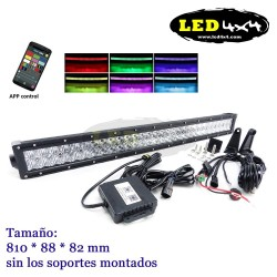 Barra led 180W 5D RGB 32""