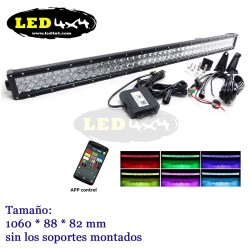 Barra led 240W 5D RGB