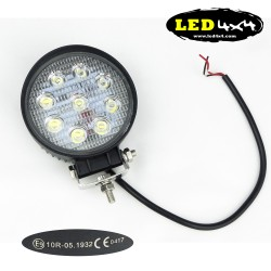 Led light 27W Homologated ECE 10R 60º