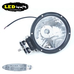 "Faro led 25W largo alcance 7"" homologado HR 17.5"