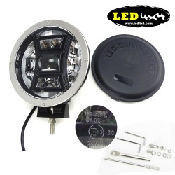 "Faro led 70W largo alcance 9"" homologado HR 30"