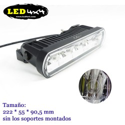 Barra led 40W largo alcance HOMOLOGADA HR 12.5