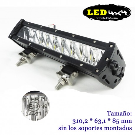Barra led 100W largo alcance HOMOLOGADA HR 30