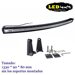 "Barra led 52"" Curvada 3 filas"