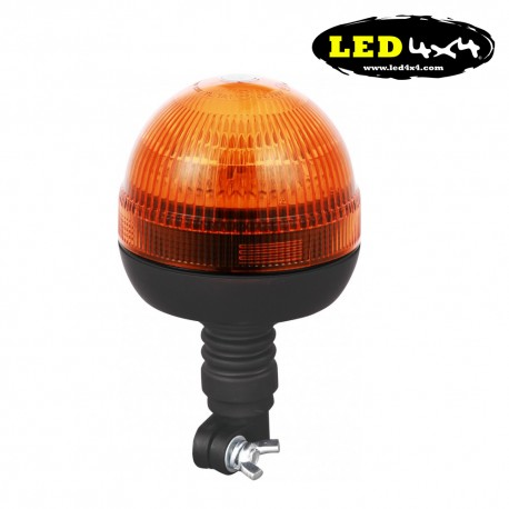 Rotativo de led tubular flexible función Flash R65 y 10R