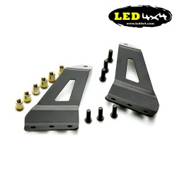 Led Light Bar Brackets to fit CHEVY o GMC 2007-2013 For 50″ Straight Led Light Bar