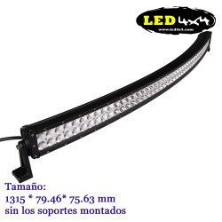 Barra led CREE 300W Curvada 52""