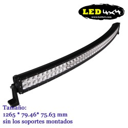 Barra led CREE 288W Curvada 50""