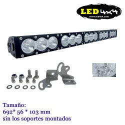 Barra led 150W largo alcance HOMOLOGADA HR 12.5