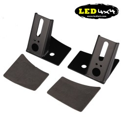 "Soportes Jeep Wrangler JK 2007-2015 para barra led 50"" recta"