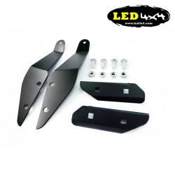 "Soportes Land Rover Defender para barra led 52"" recta"