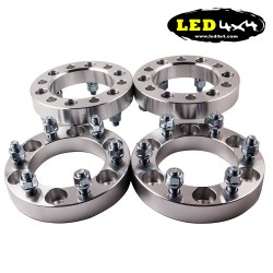 Set of 4 Wheel Spacers Nissan 30mm