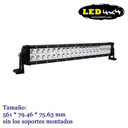 Barra led CREE 120W Recta 22""