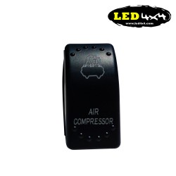 Interruptor tipo ARB luz amarilla LED WORK LIGHTS - IP68