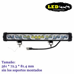 Barra led 128W largo alcance HOMOLOGADA HR 27.5