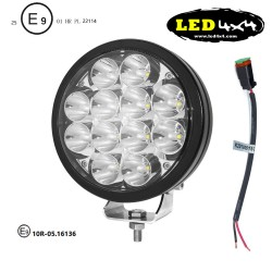 "Faro led 72W largo alcance 7"" homologado HR 25"