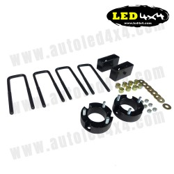 Lift kit + 5cm cleats Nissan Navara D40