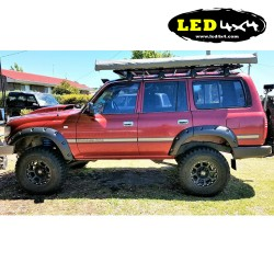 Set fender flares Toyota Landcruiser 80 series 1990-1998 ABS