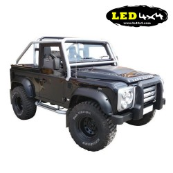 Set fender flares Land Rover Defender 12 cm ABS