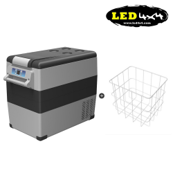 Kit 55L freezer fridge Alpicool CF55 + Basket